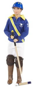"Breyer #544 Nico Polo Player Doll 8"" Rider Doll Limited Edition LE 2015"