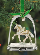 Breyer #700308 Noelle Christmas Ornament Holiday Horse Stirrup Ornament 2008