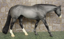 Peter Stone #9634 Stone's Diamond Blue Roan WP Western Pleasure Horse PS