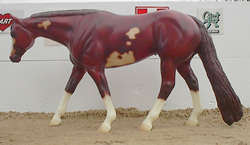 Peter Stone #9651 Chestnut Overo Paint Pinto WP Western Pleasure Horse PS
