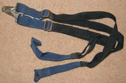 Replacement Elastic Leg Straps for Horse Blanket or Sheet Blue