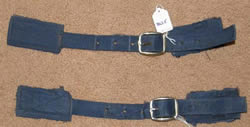 Replacement Front Buckle & Nylon Strap Front Closure Horse Blanket or Sheet Blue