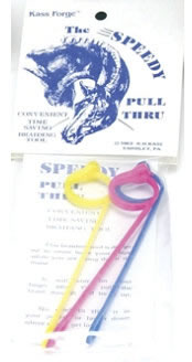 Kass Forge Speedy Pull Thru Braiding Tool Braiding Aid Pull Through Braid 3 Pk.