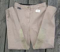 Equituff Knee Patch English Breeches Riding Pants Ladies 30 Tan