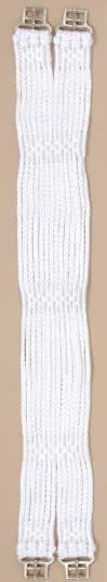 "24"" English String Girth 14 Strand Cord English Girth White"