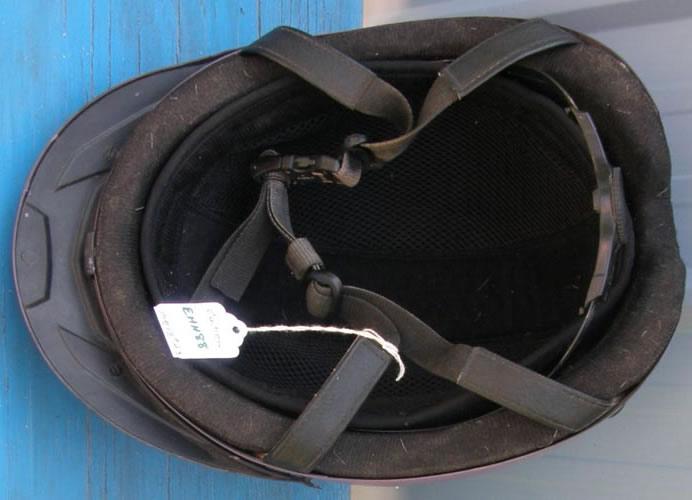 Ovation Deluxe Schooler Helmet Dial Back Lightweight Riding Helmet ASTM English Helmet with Harness Equestrian Helmet M/L Purple