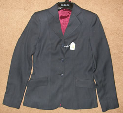 USPC Devon Aire Concour Elite Ladies English Jacket, Hunt Coat, Riding Coat