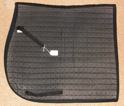 Pfiff Dressage Pad Quilted Cotton Dressage Pad Event Pad English Saddle Pad