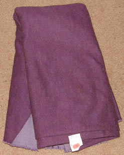 Purple Polyester Fabric Poly Dress Material Remnant
