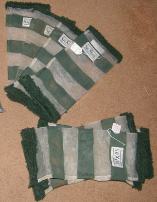 Saxon Mesh Leg Wraps Fly Boots Mesh Fly Wraps Standard Horse Set of 4