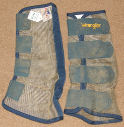 Professionals Choice Wrangler Fly Boots Mesh Fly Wraps