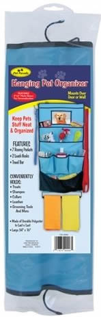 Pet Parade Hanging Pet Organizer Grooming Caddy Groom Case Grooming Tote Wall Organizer