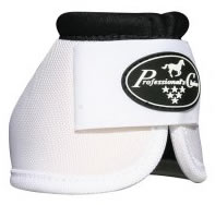 Professional's Choice Ballistic Overreach Horse Boots Bell Boots White M Horse
