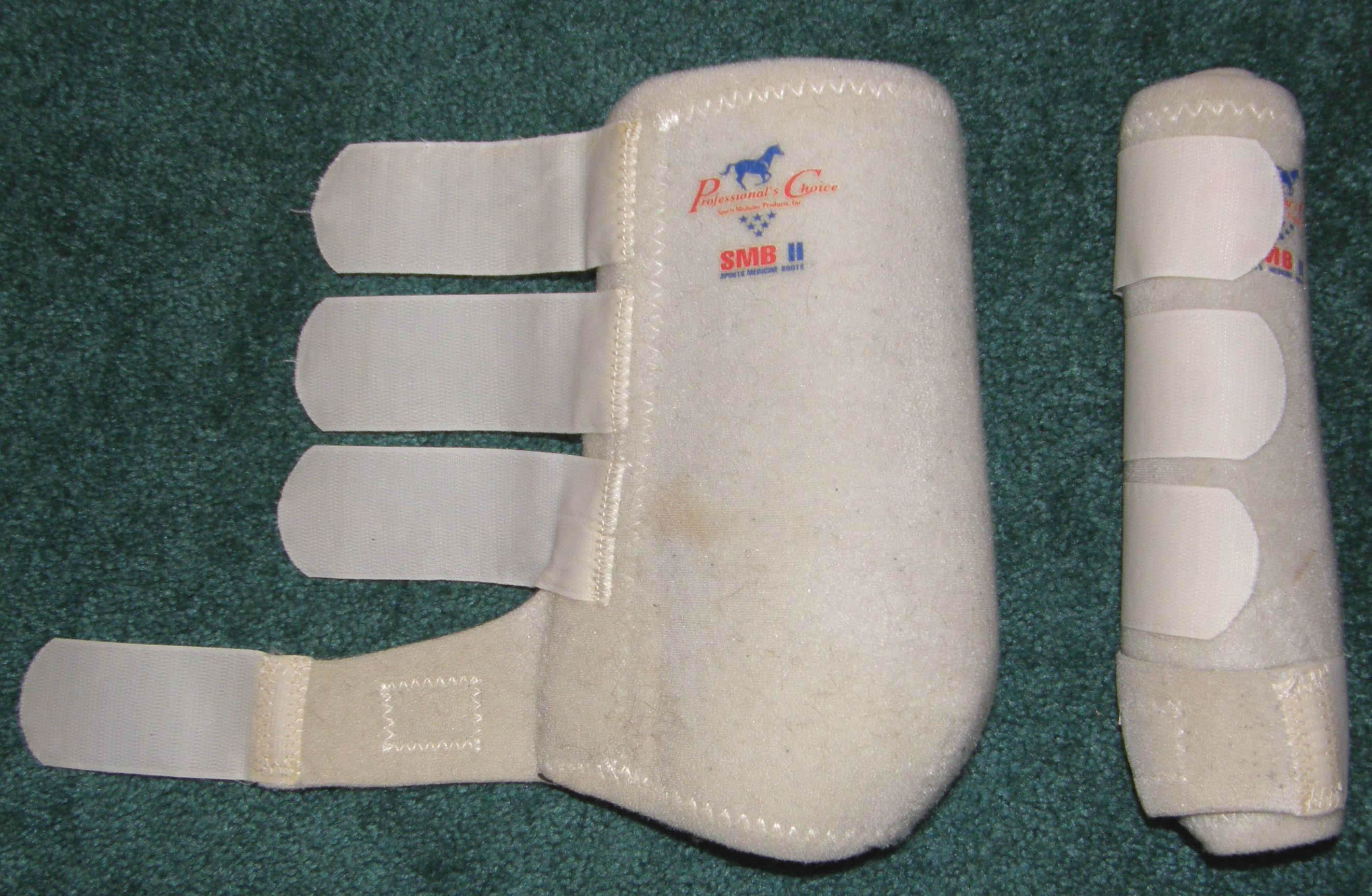 Professional's Choice SMB II 100 Sports Medicine Boots Leg Protection M Horse White