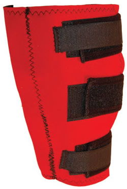 Protecto Horse Dual Action Magne-Sweat Boots Magnetic Knee Boots Knee Wrap Horse Magnet Therapy Red