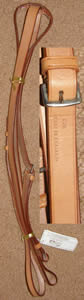 Gold Medal Flat Standing Martingale Grand National English Standing Martingale Tan Cob