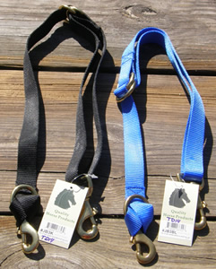 Intrepid Nylon Web Tie Down Adjustable Tiedown Strap Black Blue
