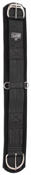 "Tough-1 EZ Breathe Snuggit Neoprene Girth Western Girth Western Cinch Neoprene Smart Cinch Black Brown 33"" 36"""