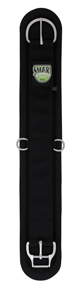 "Weaver Smart Cinch Western Girth Felt Lined Straight Western Cinch 36"" Black"