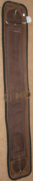 Neoprene Air Flow Waffle Weave 2 Part Girth Western Girth Western Cinch Brown 33""