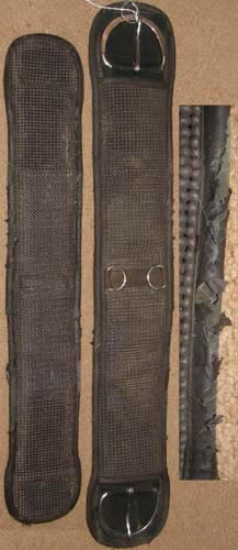 "Air-Flow Waffle Weave Western Girth Non Slip Neoprene Western Cinch 30"" Brown"