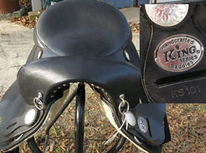 "16"" King Neutron Marathon Synthetic Endurance Saddle"