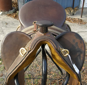 "16"" ? Australian Stock Saddle with Horn"