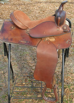 "15"" Blue Ridge Western Saddle"