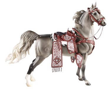 Breyer #2052 Parade Saddle Set Western Saddle Bridle Set