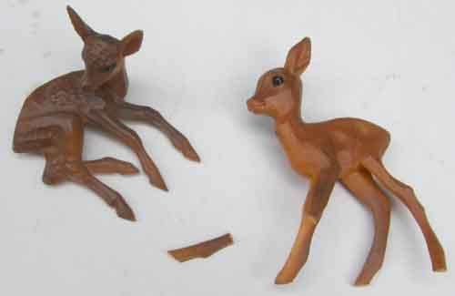 Breyer Model Horse Tack Props Deer Lying Fawn Standing Fawns