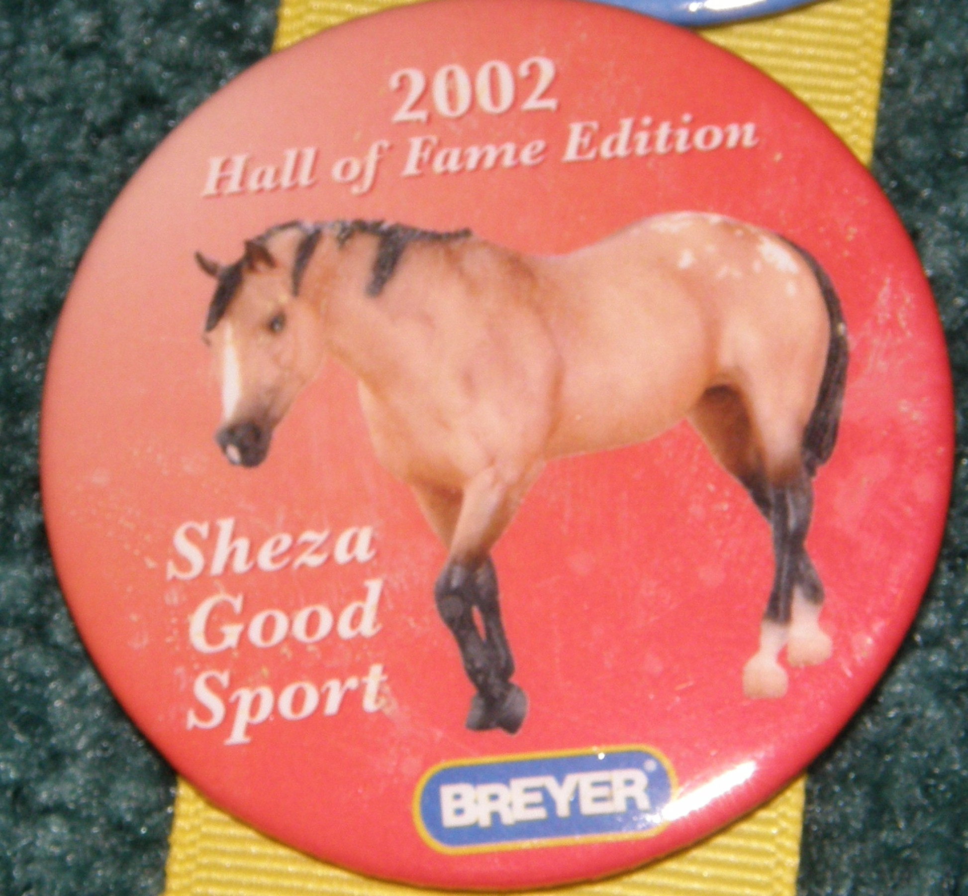 #1159 Sheza Good Sport Appaloosa Horse Breyer Button Pin