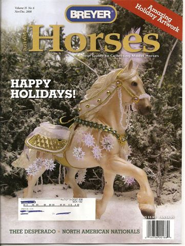 Breyer Just About Horses JAH November/December 2008 Volume 35 Number 6
