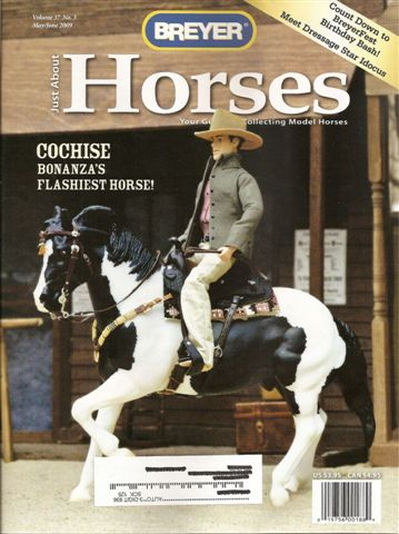 Breyer Just About Horses JAH May/June 2009 Volume 36 Number 3