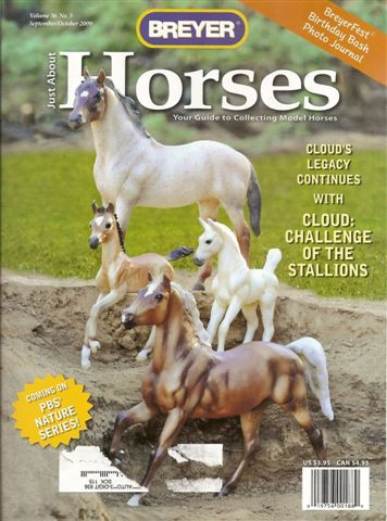 Breyer Just About Horses JAH September/October 2009 Volume 36 Number 5