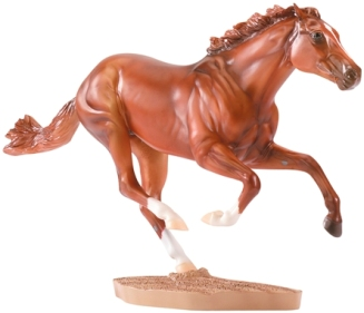 Breyer Horse #1345 Secretariat Triple Crown Winner Famous Chestnut TB Thoroughbred Race Horse