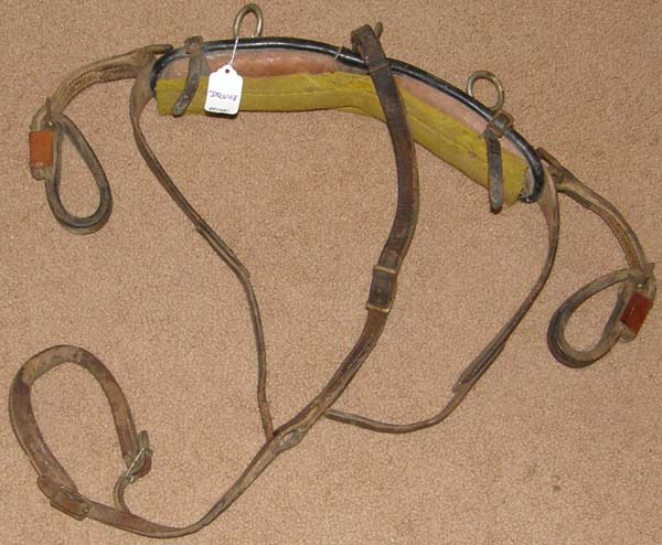 Driving Harness Saddle Back Pad Shaft Loops & Tail Crupper Harness Parts