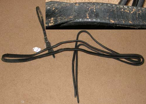 Mini Horse Driving Harness Breastcollar & Traces Harness Parts Black Miniature Horse Small Pony
