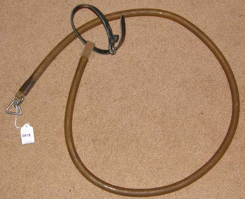 Vintage Jog Cart Gaiting Strap Standarbred Race Horse Harness Part 60""
