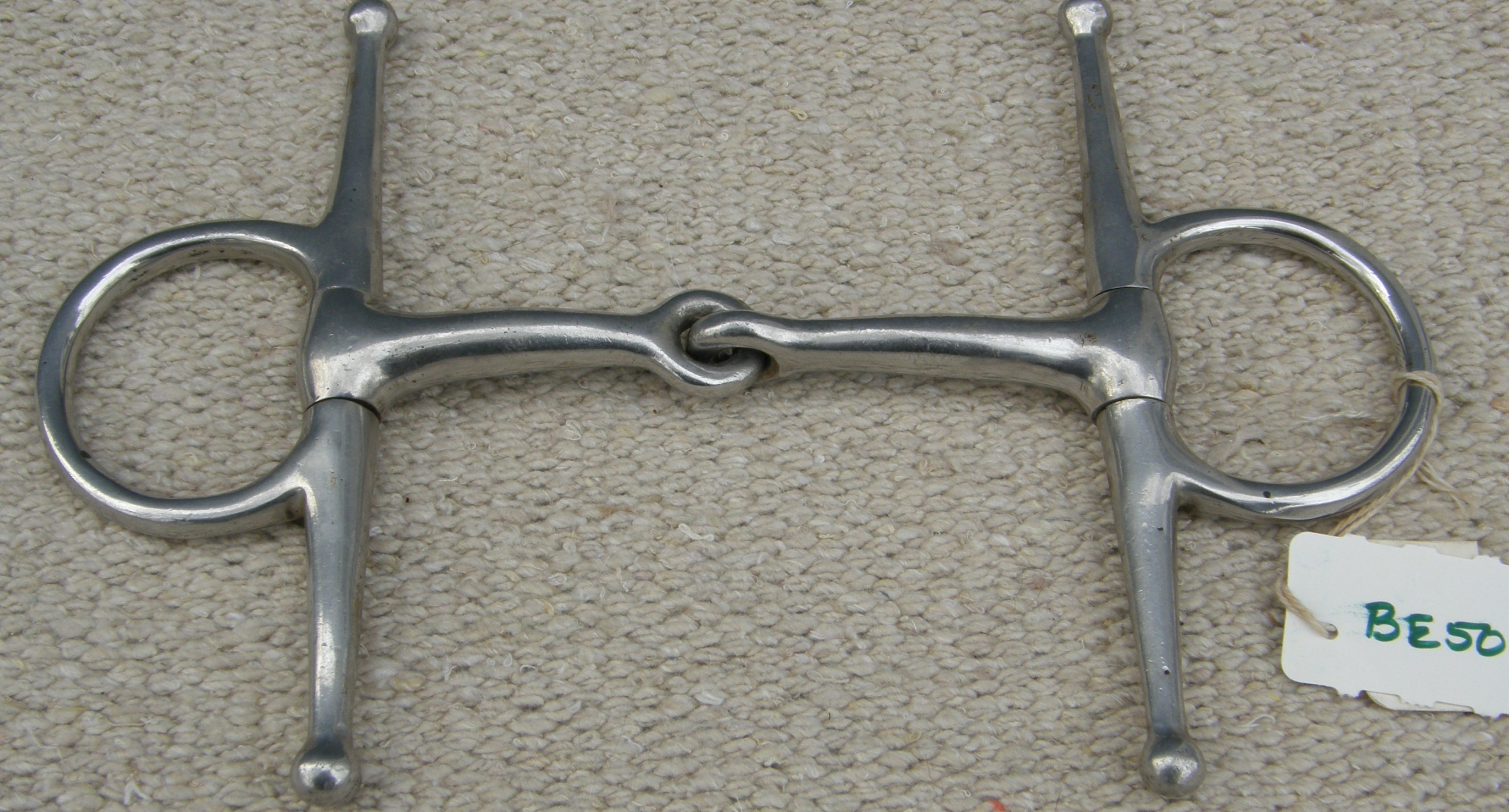 "4 1/2 "" Full Cheek Snaffle Bit"