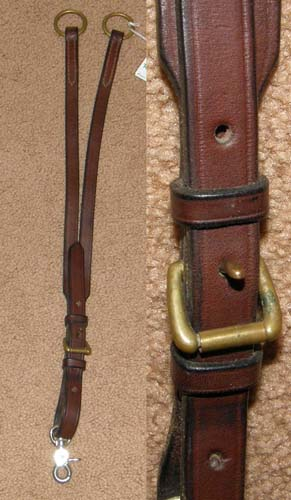 Buckle In Running Martingale Attachment