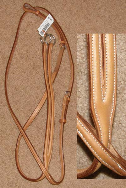 Gold Medal Raised Running Martingale Grand National English Running Martingale Tan Horse