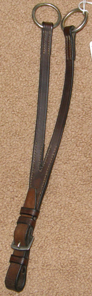Treadstone Buckle In Running Martingale Attachment Dark Brown Pony