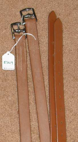 "Millers English Stirrup Leathers Childs English Leathers Lt Oil New Market 1"" x 48"""