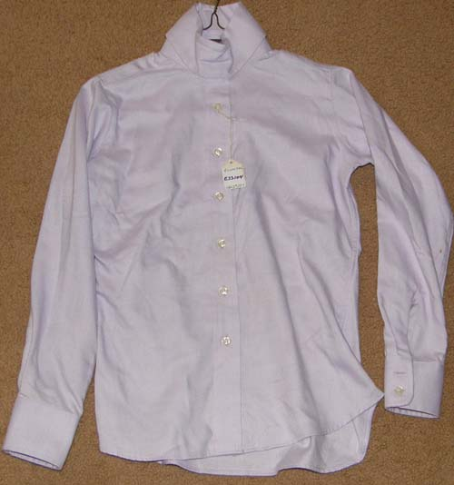 Essex Classics Performance Collection Coolmax Long Sleeve Show Shirt Ratcatcher LS English Shirt Childs 10 Lavender