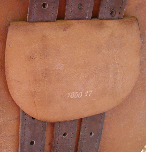 "17"" S Tropez Close Contact English Saddle All Purpose Jumping Saddle Brown"