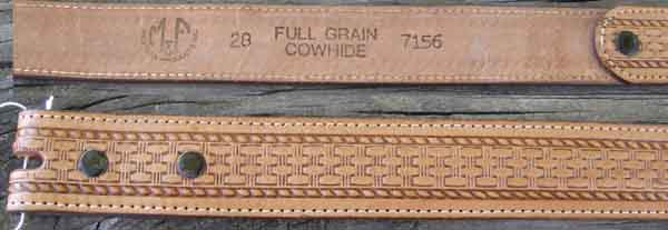 Western Belts Page 3