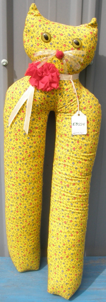 Calico Cat Tall Boot Shapers Fabric Boot Tree English Boots Western Boots Boot Insert Yellow