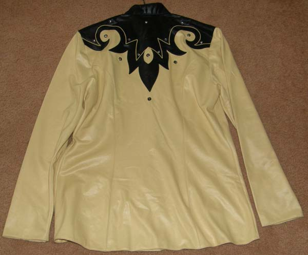 1849 Authentic Ranchwear Western Show Blazer Western Showmanship Jacket Yellow/Black Ladies M