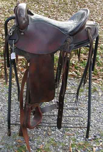"American Saddlery 16"" The American Endurance Saddle 805"