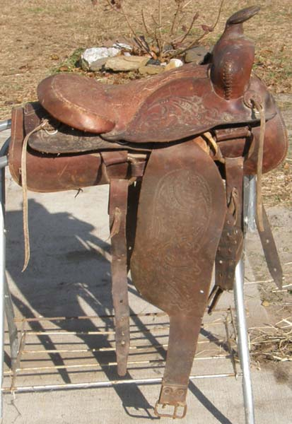 "15"" Western Saddle Decoration"
